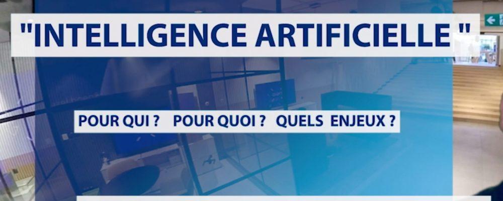 Emission en direct sur le thème de l'Intelligence Artificielle
