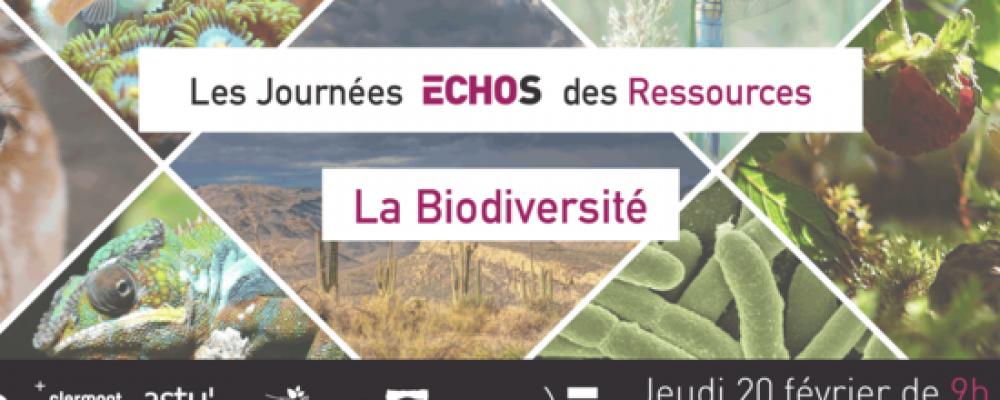 Journée « Biodiversité » Echos des ressources