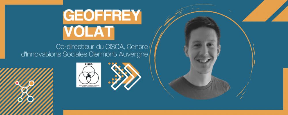 Geoffrey Volat du CISCA «pas de transformation durable sans démocratie.»
