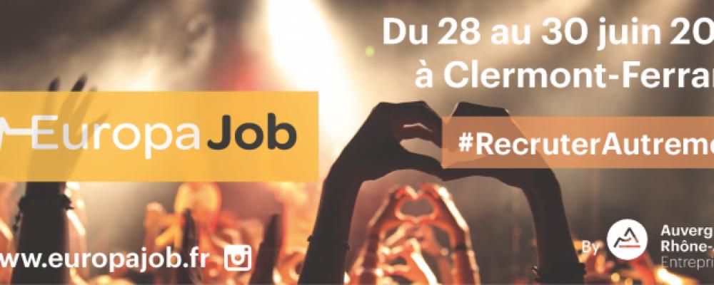 Europajob 2e édition : Recruter Autrement !