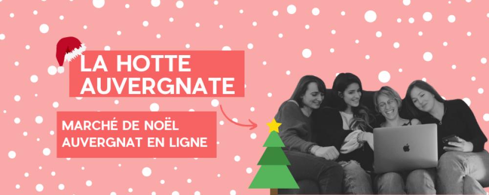 La Hotte Auvergnate : marché de Noël local en ligne