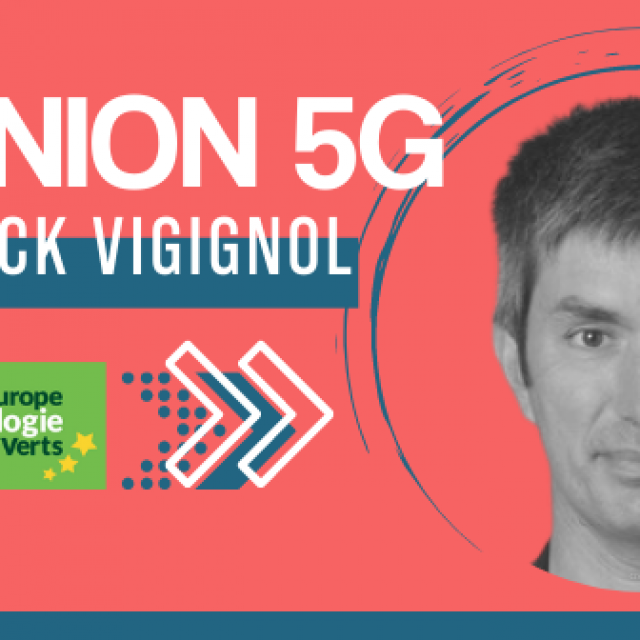 5G Yannick Vigignol, EELV Clermont-Ferrand  «On ne va pas arrêter le progrès technologique»