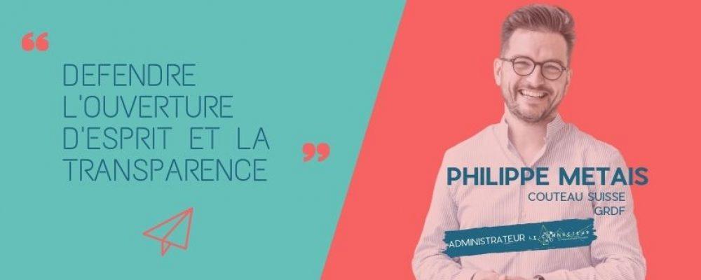 Philippe Métais, démontrer par l'exemple.