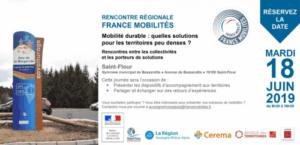 Mobilité durable : quelles solutions pour les territoires peu denses ? @ Gymnase municipal de Besserette | Saint-Flour | Auvergne-Rhône-Alpes | France