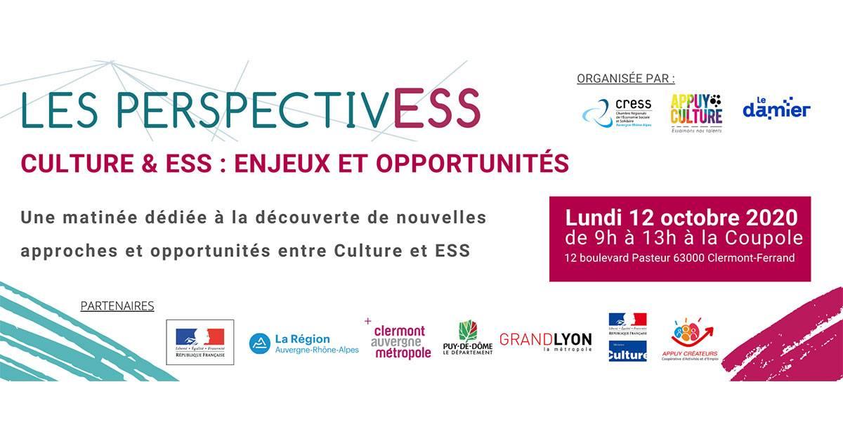 Perspectiv'ESS Culture @ La Coupole | Clermont-Ferrand | Auvergne-Rhône-Alpes | France