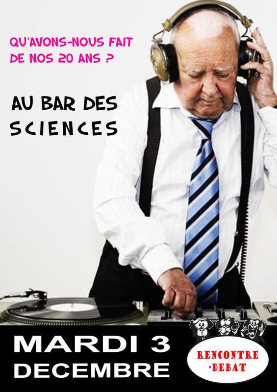 La Baie des Singes : Au bar des Sciences - Qu'avons-nous fait de nos 20 ans ? @ La Baie des Singes | Cournon-d'Auvergne | Auvergne-Rhône-Alpes | France