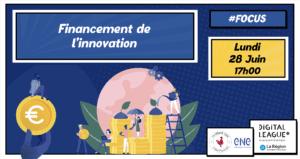 [SUR PLACE] DL Focus : Dispositifs de financement de l'innovation @ TURING 22   Clermont-Ferrand   Auvergne-Rhône-Alpes   France