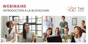 WEBINAIRE Juin - Introduction à la Blockchain