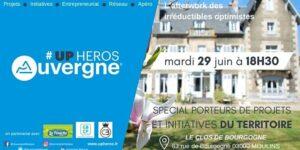 [SUR PLACE] Upheros Moulins Spécial porteurs de projets et initiatives du territoire @ LE CLOS DE BOURGOGNE | Moulins | Auvergne-Rhône-Alpes | France