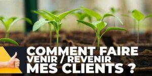 Atelier en ligne : Comment faire venir/revenir mes clients ? @ Événement en ligne