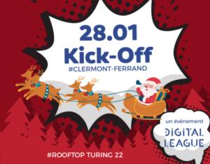 DIGITAL LEAGUE Voeux KickOff #Auvergne 2020 @ TURING 22 | Clermont-Ferrand | Auvergne-Rhône-Alpes | France