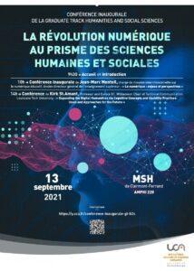 [SUR PLACE] Conférence inaugurale de la GT H2S – « La révolution numérique au prisme des SHS » @ MAISON DES SCIENCES DE L'HOMME   Clermont-Ferrand   Auvergne-Rhône-Alpes   France