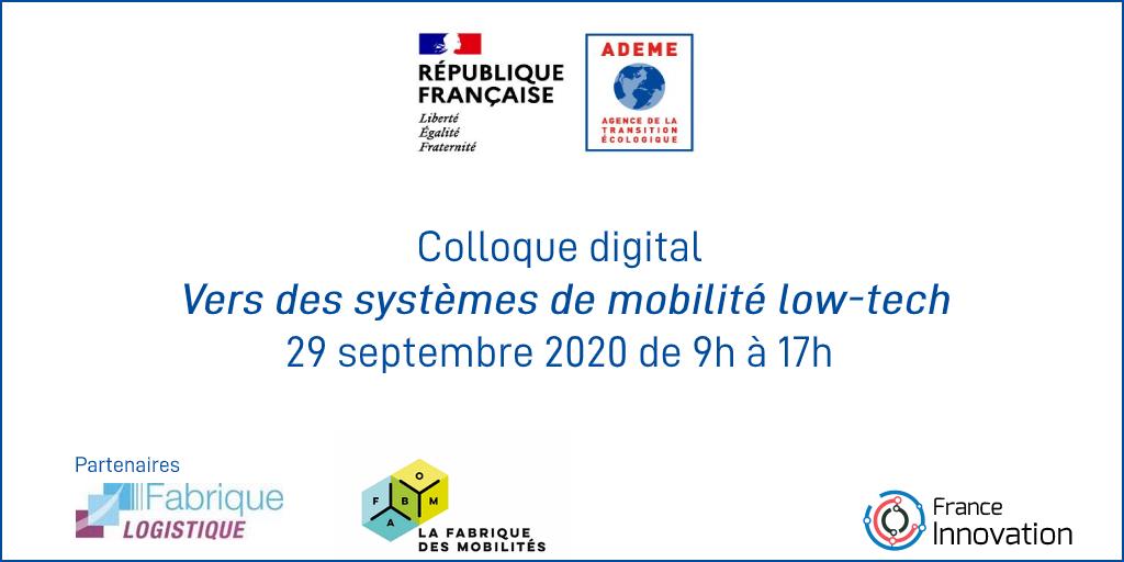 Vers des systèmes de mobilités low-tech en Ile-de-France