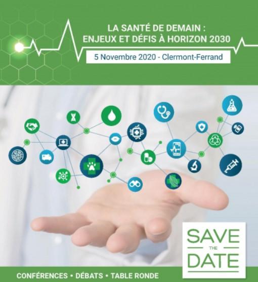 LA SANTÉ DE DEMAIN :  ENJEUX ET DÉFIS À HORIZON 2030 @ Clermont-Ferrand | Auvergne-Rhône-Alpes | France