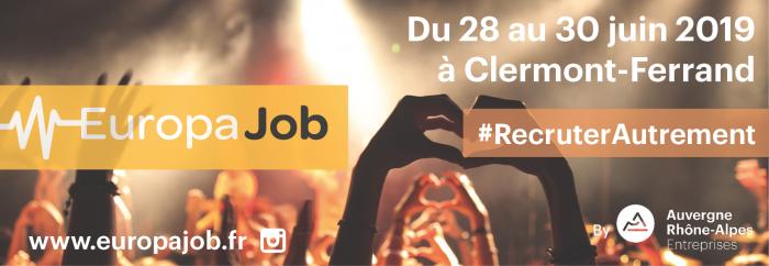 Europajob 2e édition : Recruter Autrement ! @ Clermont-Ferrand | Auvergne-Rhône-Alpes | France
