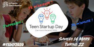 Teen Start-Up Day @ Turing 22 | Clermont-Ferrand | Auvergne-Rhône-Alpes | France