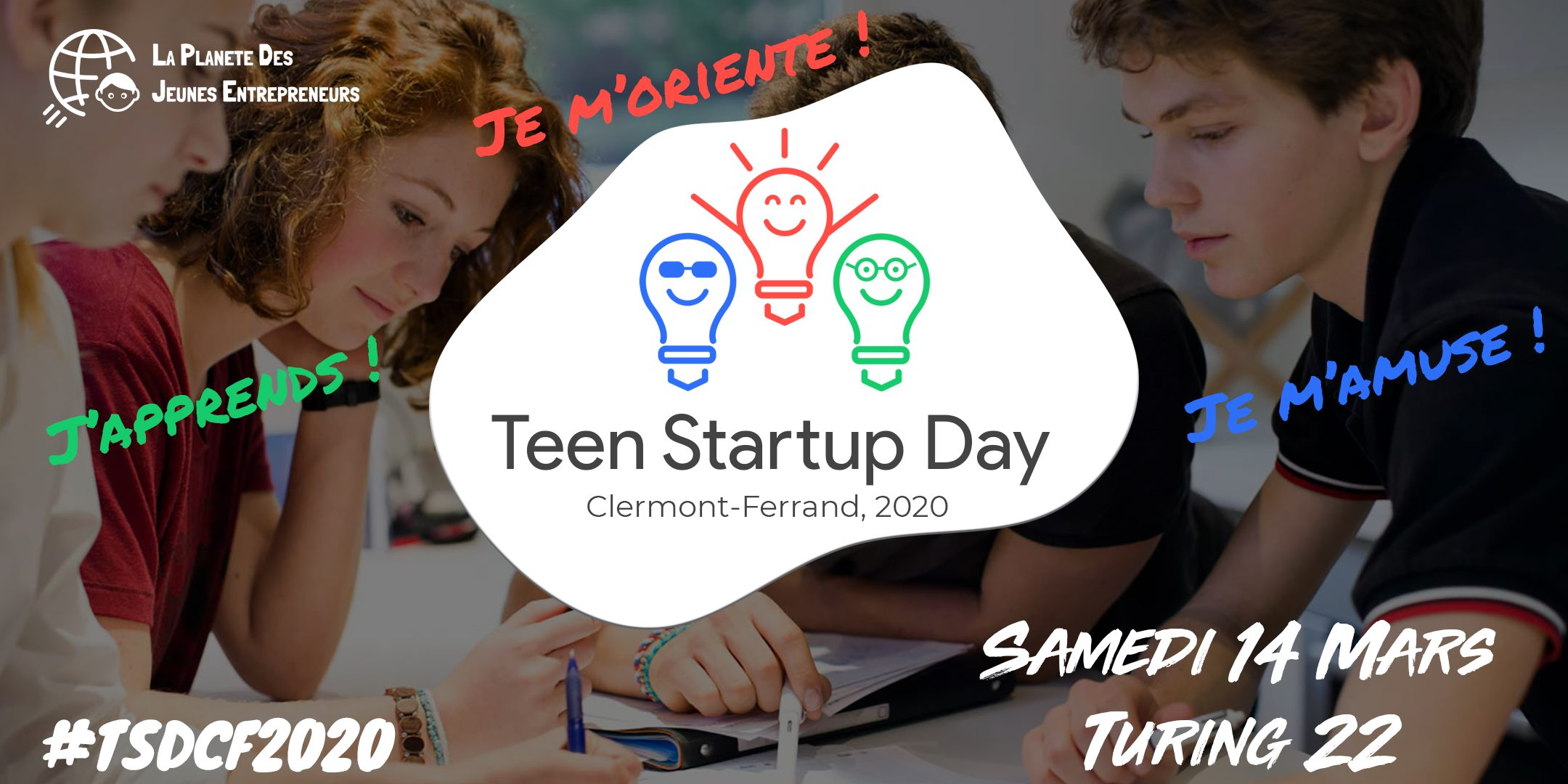 Teen Start-Up Day @ Turing 22 | Clermont-Ferrand | Auvergne-Rhône-Alpes | France