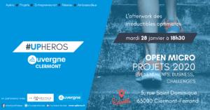 UPHEROS CLERMONT-FERRAND JANVIER @ Epicentre Factory | Clermont-Ferrand | Auvergne-Rhône-Alpes | France