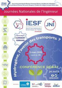 Journée Nationale de l'Ingénieur à Clermont-Ferrand : Hydrogène, l'avenir des transports ? @ Hôtel de Région de Clermont-Ferrand | Clermont-Ferrand | Auvergne-Rhône-Alpes | France