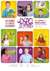 Exposciences Auvergne · Les jeunes a(n)iment la science ! @ Athanor | Montluçon | Auvergne-Rhône-Alpes | France