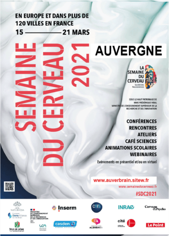 [PHYGITAL] Semaine du Cerveau 2021 Auvergne @ Université Clermont Auvergne | Clermont-Ferrand | Auvergne-Rhône-Alpes | France